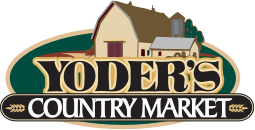 A theme logo of Yoder's Country Market